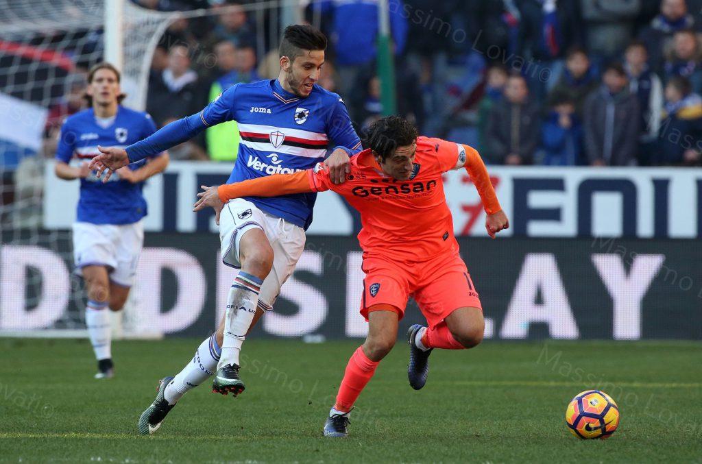 16/01/2017 Campionato di Calcio di serie A, Sampdoria-Empoli