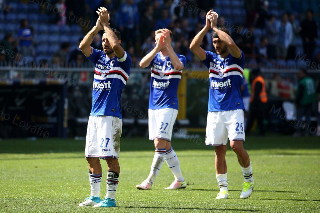 09/04/2017 Campionato di Calcio di serie A, Sampdoria-Fiorentina