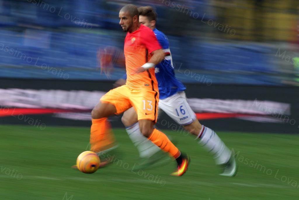 29/01/2017 Campionato di Calcio di serie A, Sampdoria-Roma