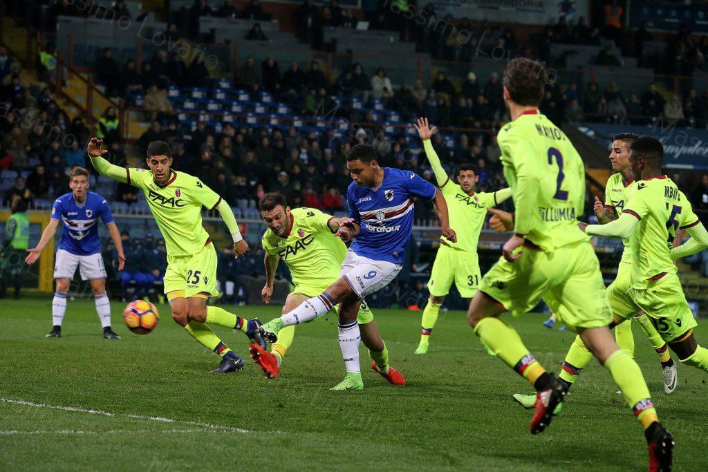 12/02/2017 Campionato di Calcio di serie A, Sampdoria-Bologna
