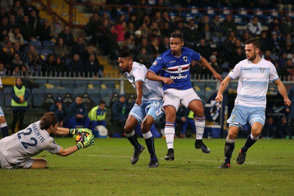10/12/2016 Campionato di Calcio di serie A, Sampdoria-Lazio