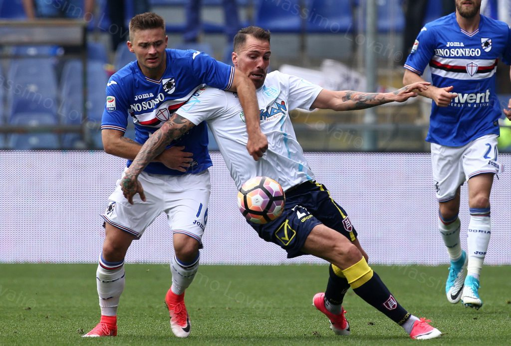 14/05/2017 Campionato di Calcio di serie A, Sampdoria-Chievo