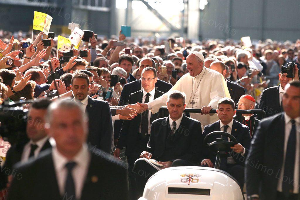 27/05/2017 Visita Pastorale Papa Francesco, Ilva Genova