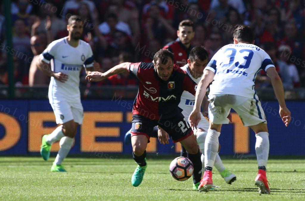 07/05/2017 Campionato di Calcio di serie A, Genoa-Inter