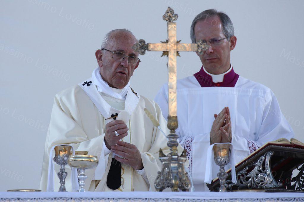 27/05/2017 Visita Pastorale Papa Francesco  S. Messa Piazzale Kennedy