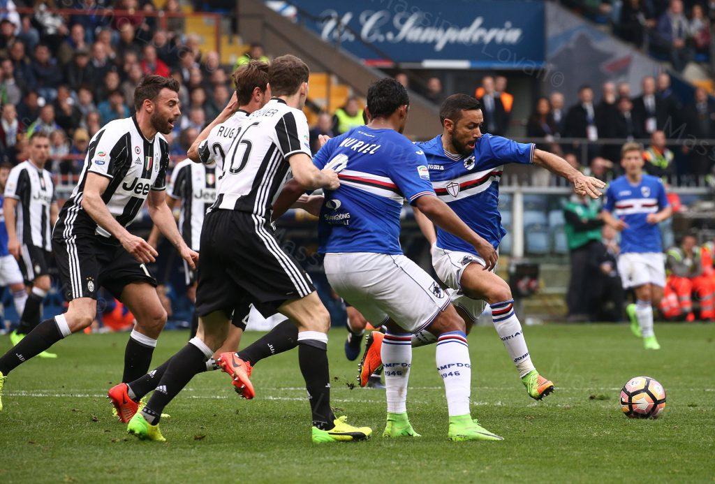 19/02/2017 Campionato di Calcio di serie A, Sampdoria-Juve