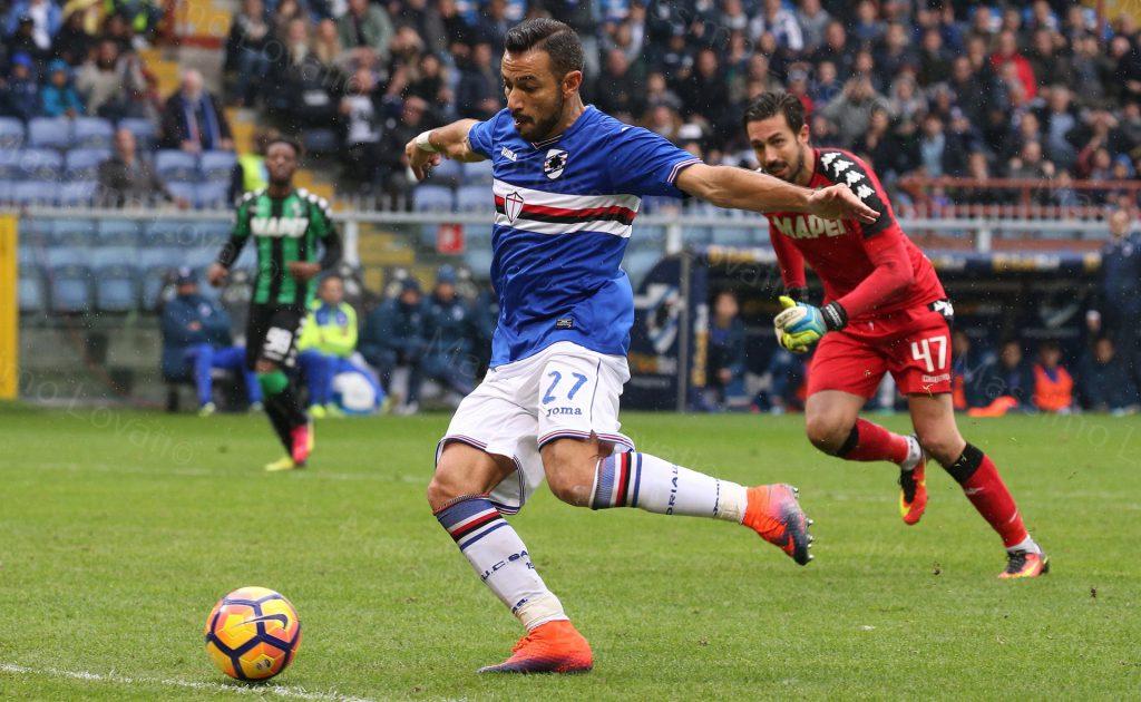 20/11/2016 Campionato di Calcio di serie A, Sampdoria-Sassuolo