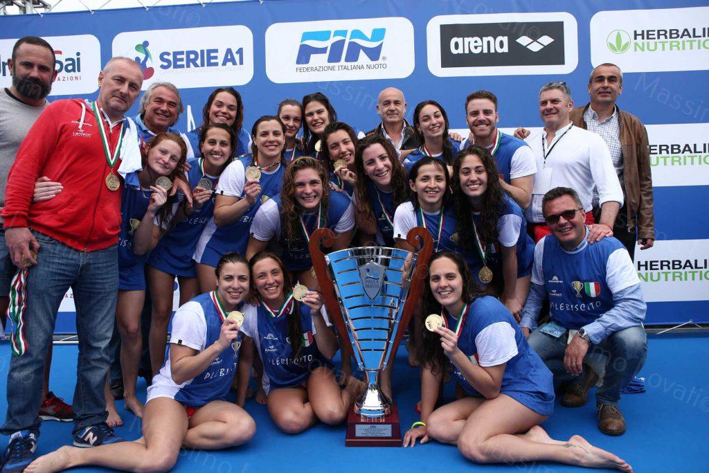 13/05/2017 Rapallo (GE) Final Six Pallanuoto Femminile, Finale 1° 2°, C.S Plebiscito Padova – L'EKIPE  Orizzonte Catania 2°