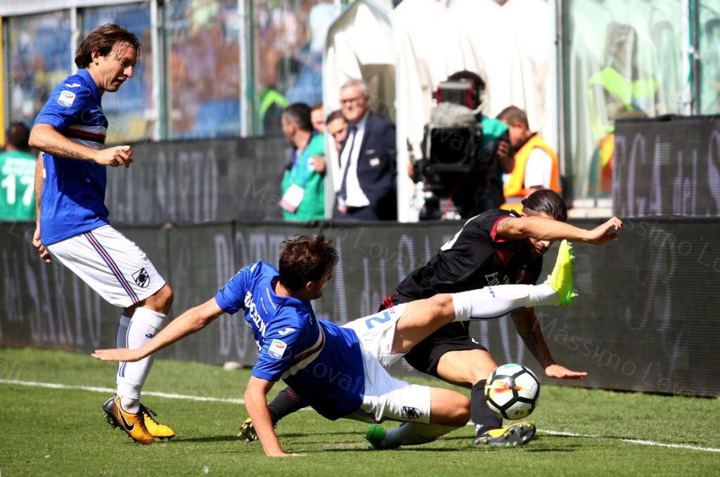 24/09/2017 Genova, campionato di Calcio Serie A 2017/18, Sampdoria – Milan