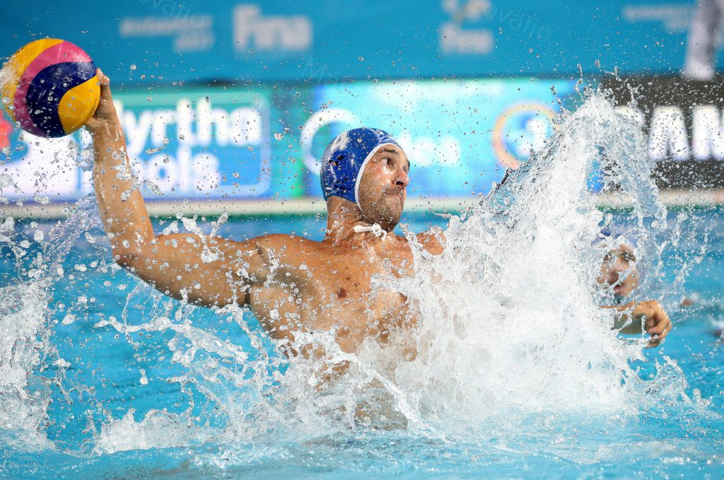 25/07/2017 Budapest, 17th FINA World Championships, Water polo Italia – Croazia