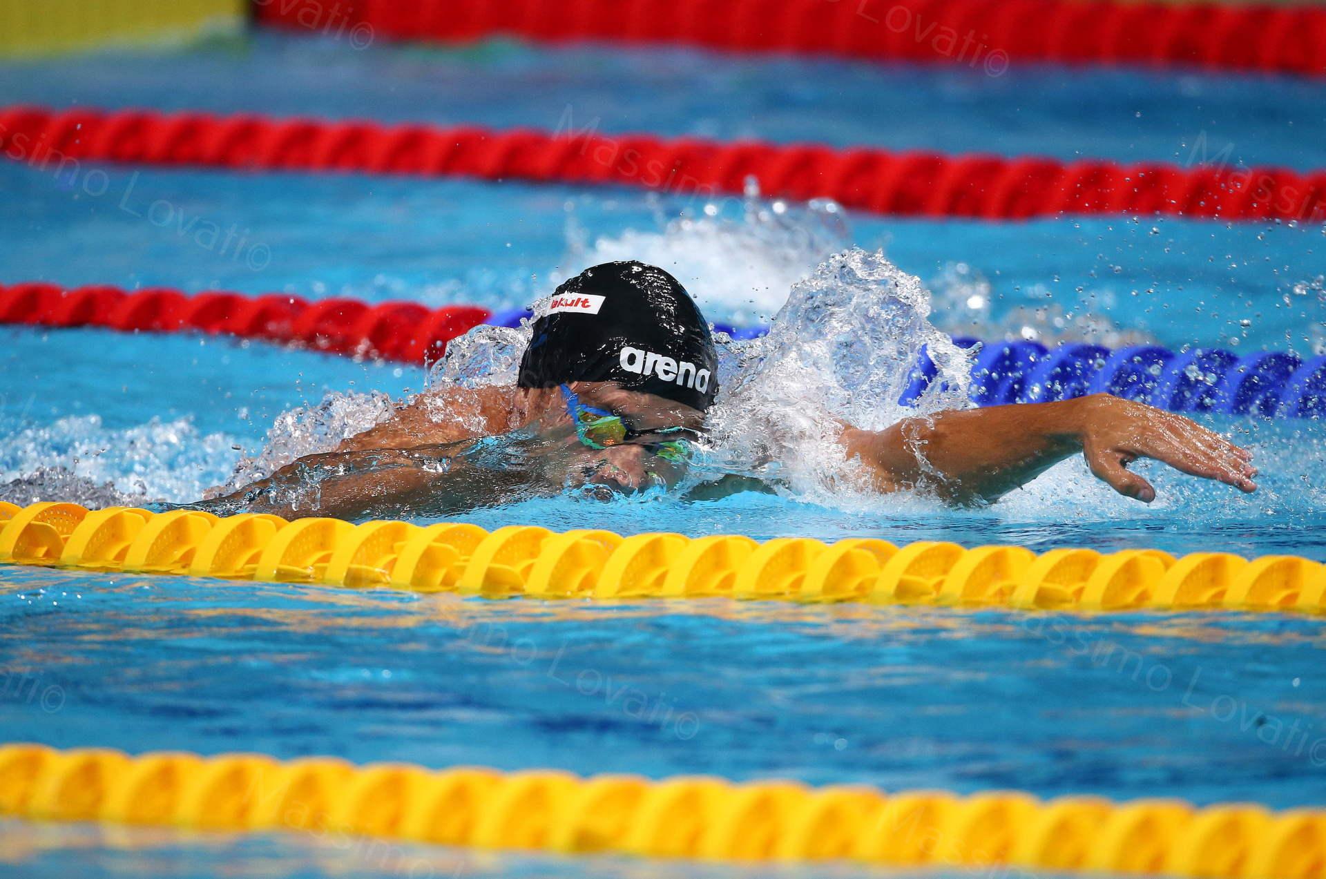 Mondiali FINA 2017, Budapest, Detti in azione