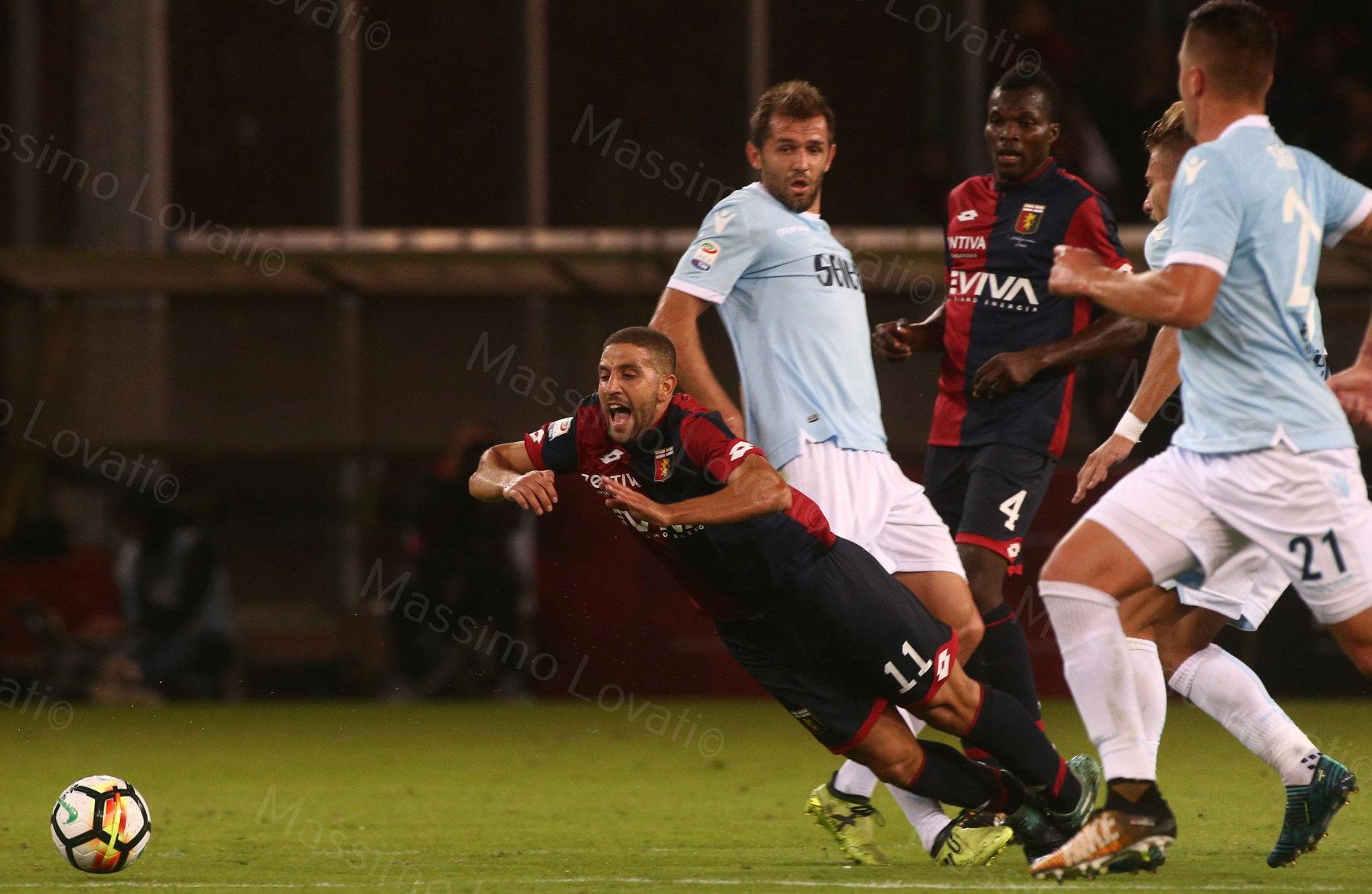 Genoa - Lazio 2017/2018,  Taarabt in caduta... libera... non tanto