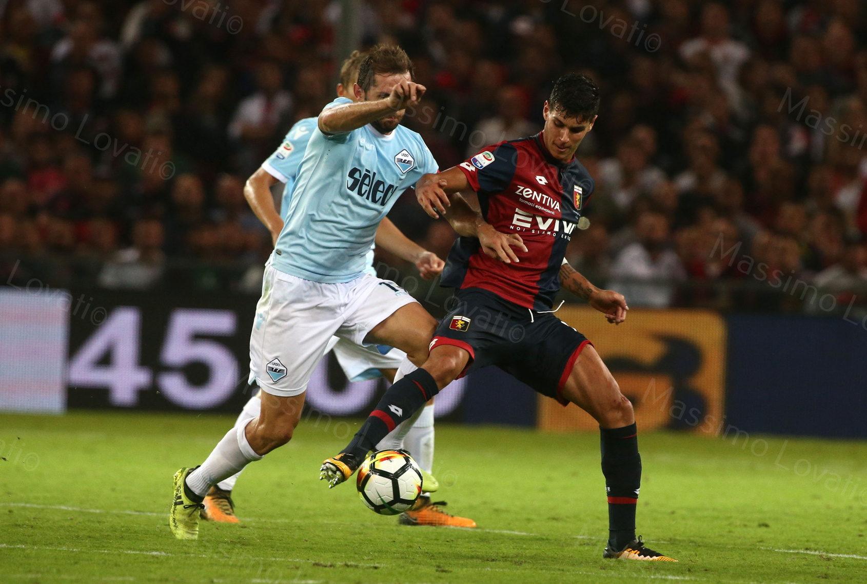 Genoa - Lazio 2017/2018, Pellegri in azione