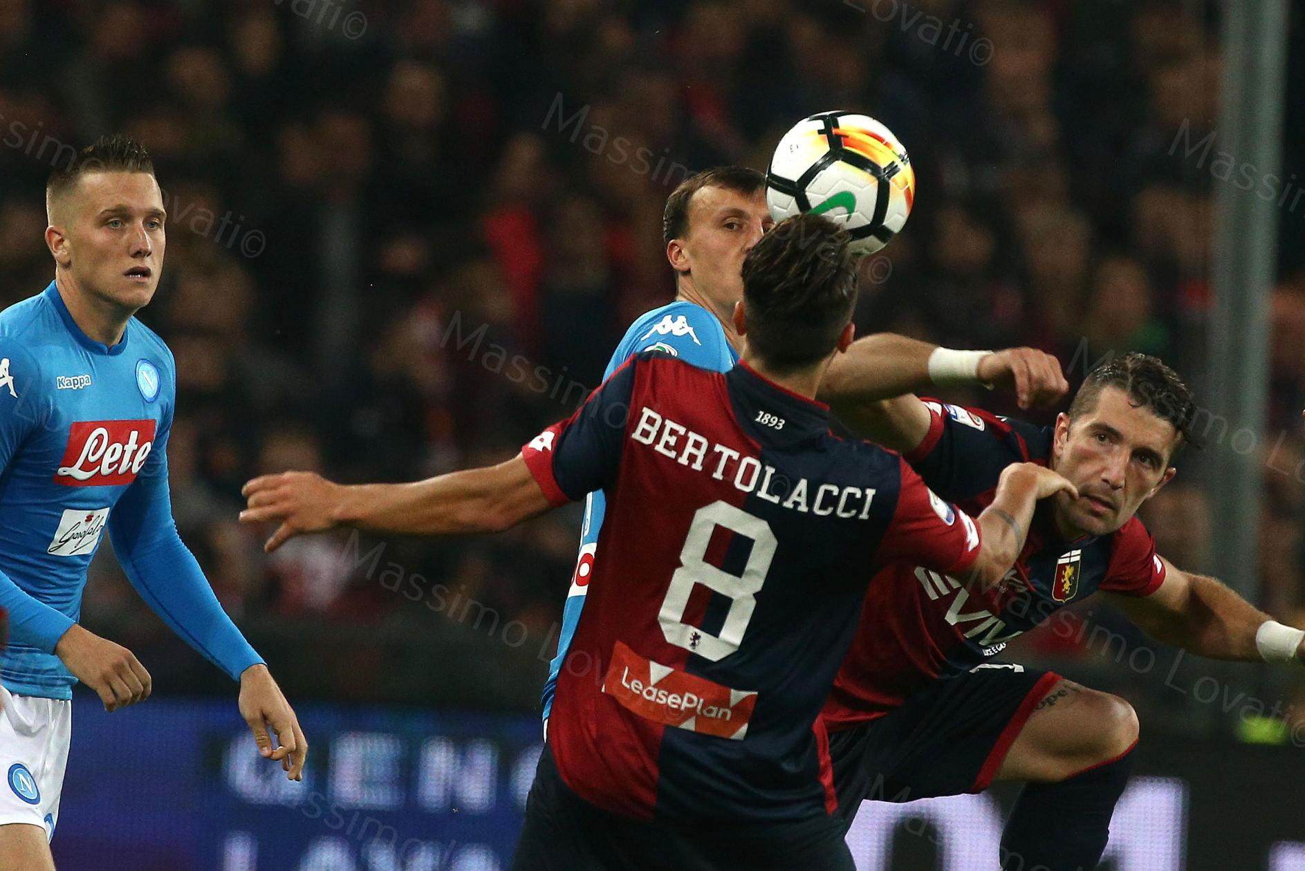 25/10/2017, Genova , Campionato di Calcio Serie A, Genoa - Napoli, nella foto Chiriches