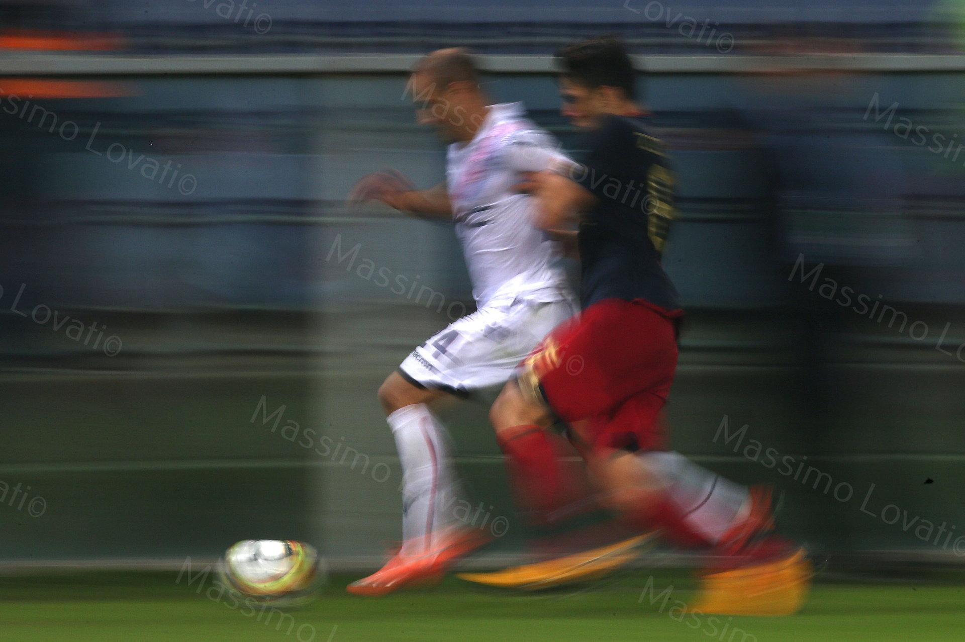 30/09/2017, Genova , Campionato di Calcio Serie A, Genoa- Bologna , nella foto Palacio in azione