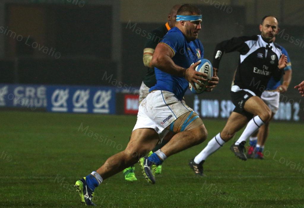 25/11/2017 Padova, Rugby, Test Match Italia – Sudafrica