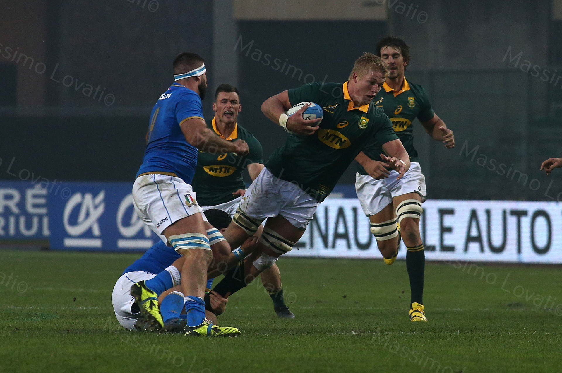 25/11/2017 Padova Rugby Test Match Italia - Sudafrica, nella foto Du Pieter_Steph Du Toit