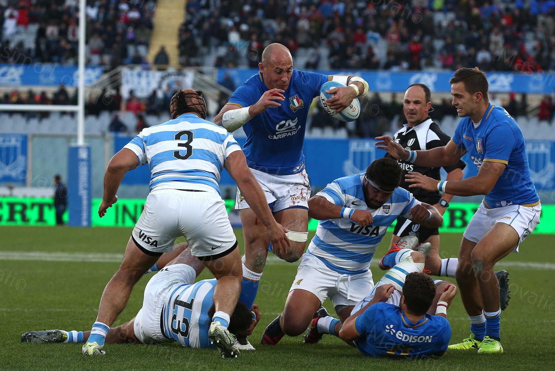 18/11/2017 Firenze,Rugby, Test Match Italia - Argentina nella foto Sergio Parisse