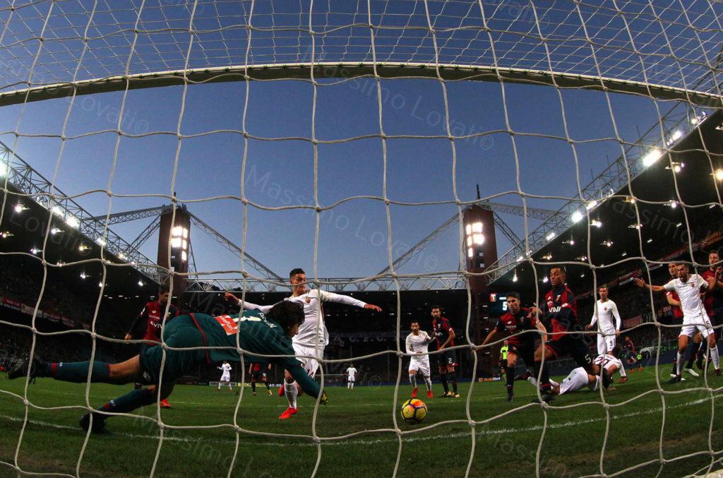 26/11/2017 Genova, Campionato di Calcio Serie A 2017-2018, Genoa – Roma