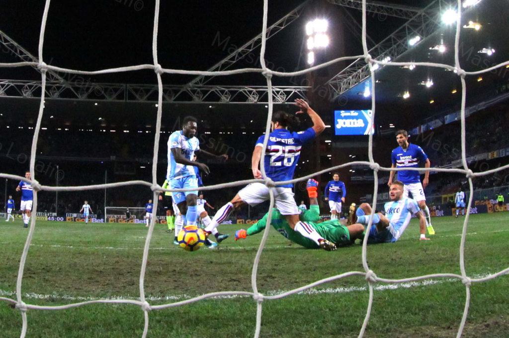 03/12/2017 Genova, Campionato di Calcio Serie A 2017-2018, Sampdoria – Lazio