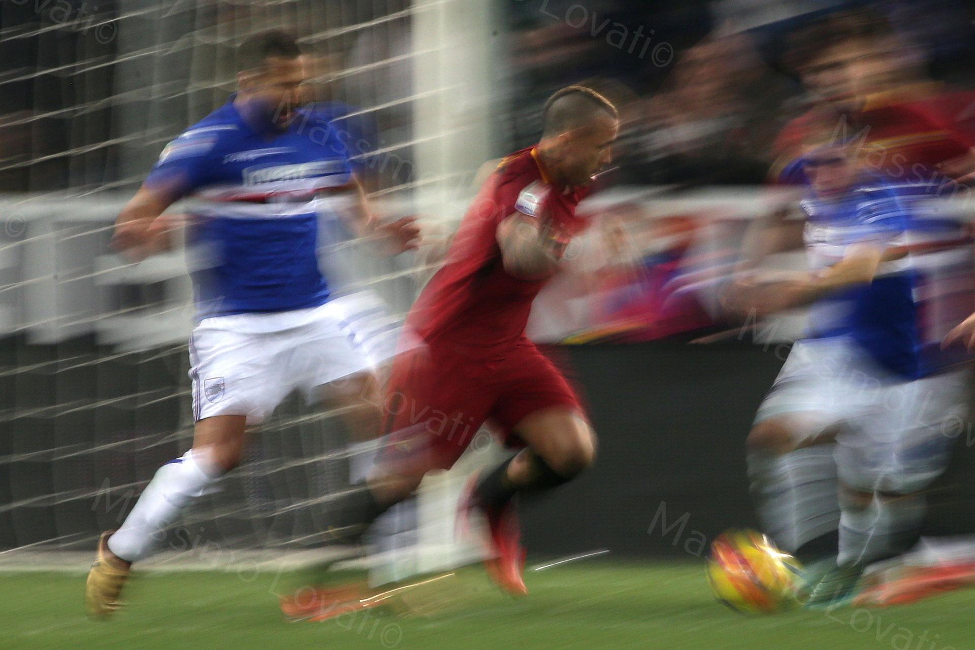 24/01/2018, Genova, Campionato di Calcio di Serie A, Sampdoria-Roma, nella foto Nainggolan