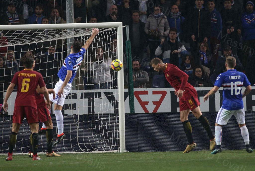 24/01/2018 Campionato di Calcio di Serie A 2017-2018, Sampdoria-Roma