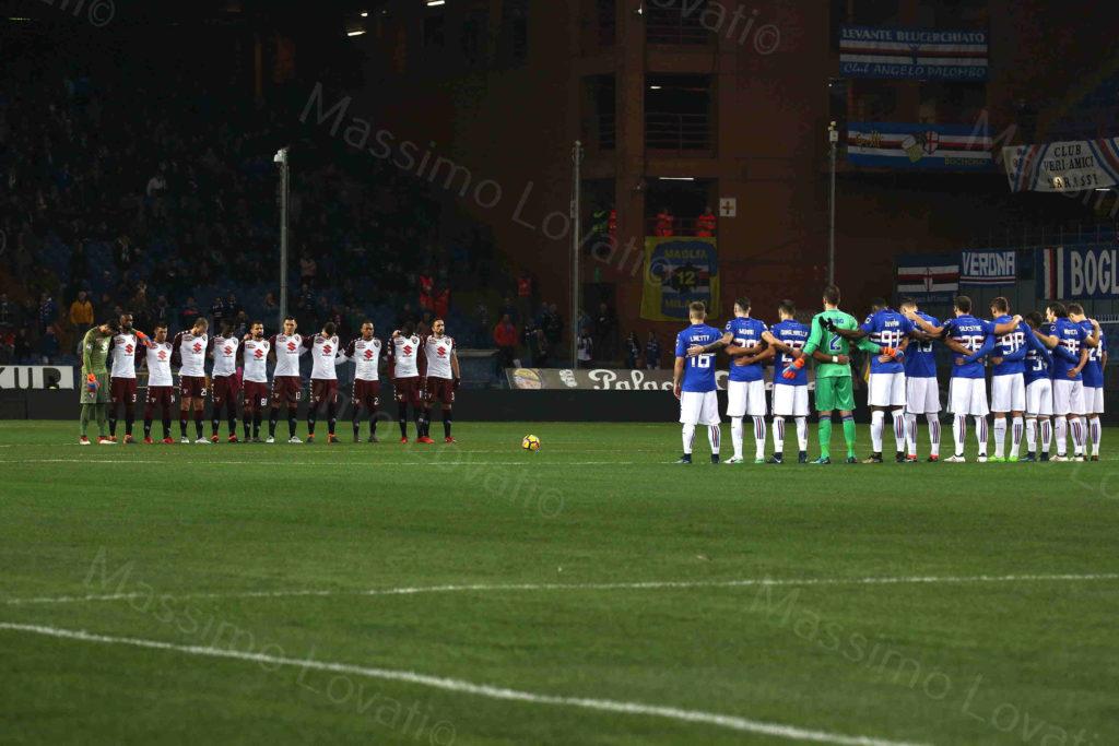 03/02/2018, Genova, Campionato di Calcio di Serie A 2017-2018, Sampdoria-Torino