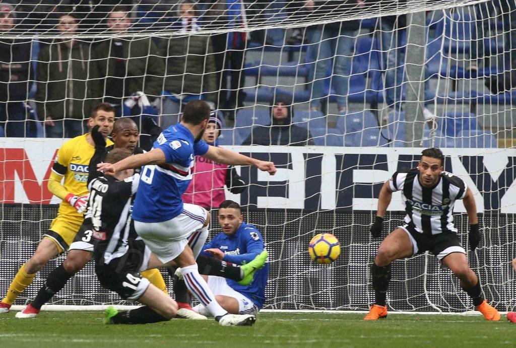 25/02/2018, Genova, Campionato di Calcio di serie A 2017-2018, Sampdoria-Udinese