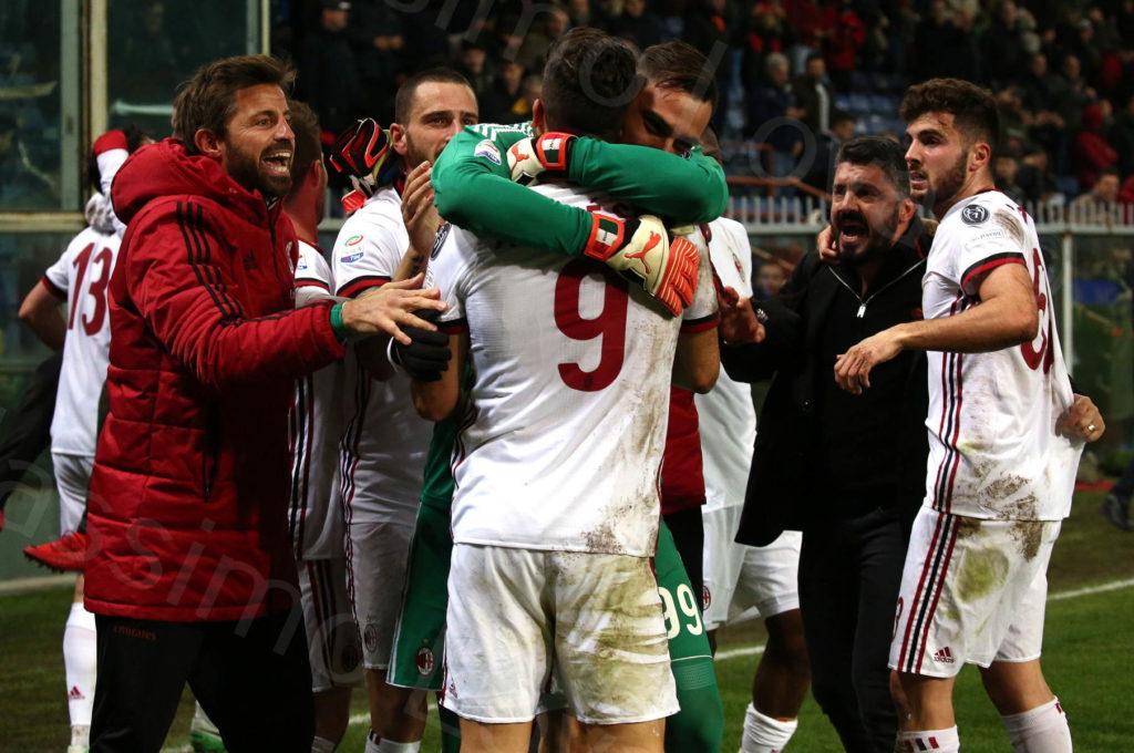 11/03/2018, Genova, Campionato di Calcio di Serie A 2017-2018, Genoa-Milan
