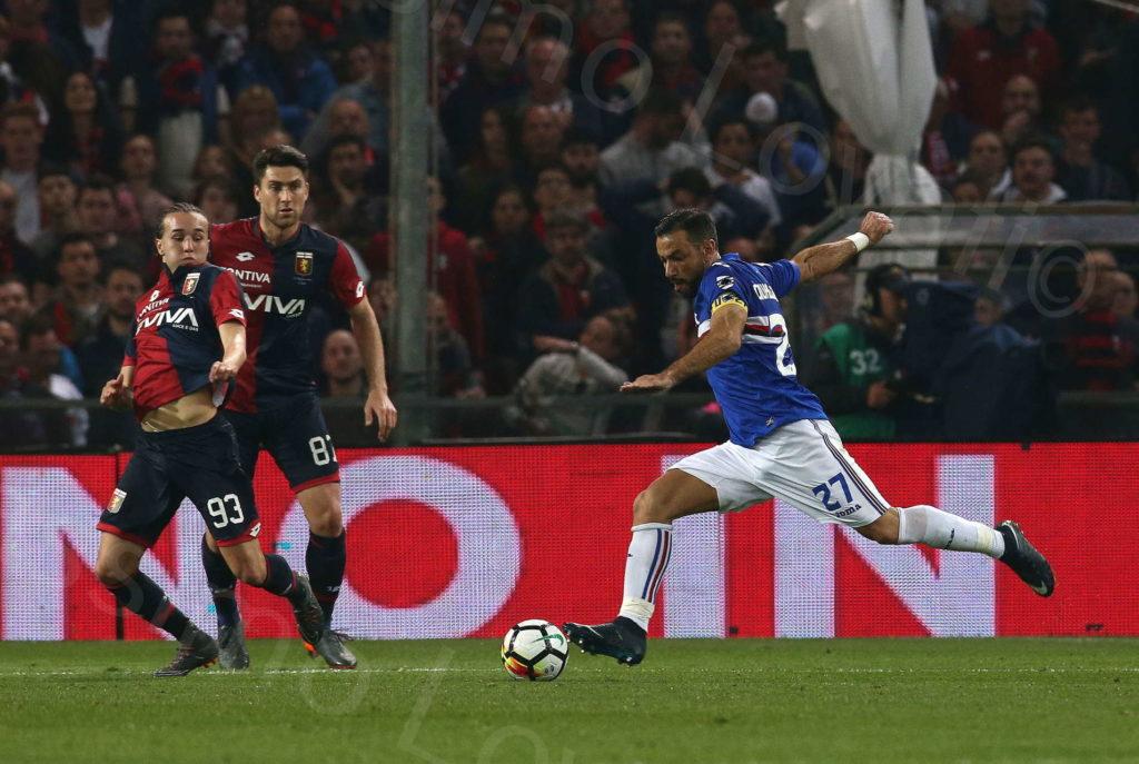 07/04/2018 Genova, Campionato di Calcio di Serie A 2017/2018, Sampdoria – Genoa
