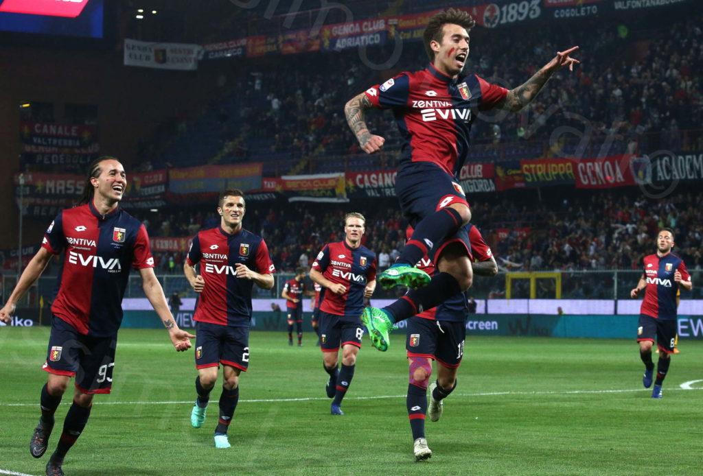 23/04/2018, Genova, Campionato di Calcio Serie A 2017/2018, Genoa – Verona
