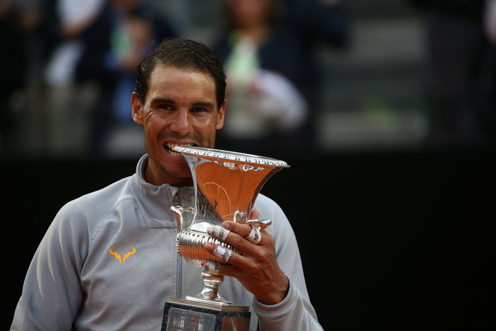 20/5/2018, Roma, Internazionali D'Italia, Finale Rafael Nadal-Alexander-Zverev