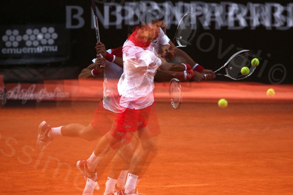 18/05/2018, Roma, Internazionali BNL D'Italia, Quarti di finale, Kei Nishikori-Novak Djoikovic