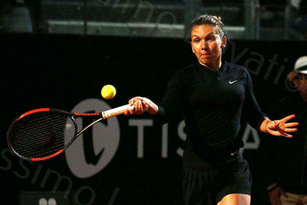 18/5/2018, Roma, Internazionali BNL D'Italia, Quarti di Finale, Simona Halep – Caroline Garcia