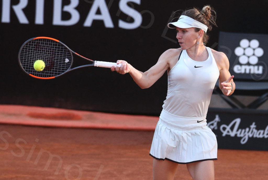 19/5/2018, Roma, Internazionali D'Italia, Semifinale Simona Halep-Maria Sharapova