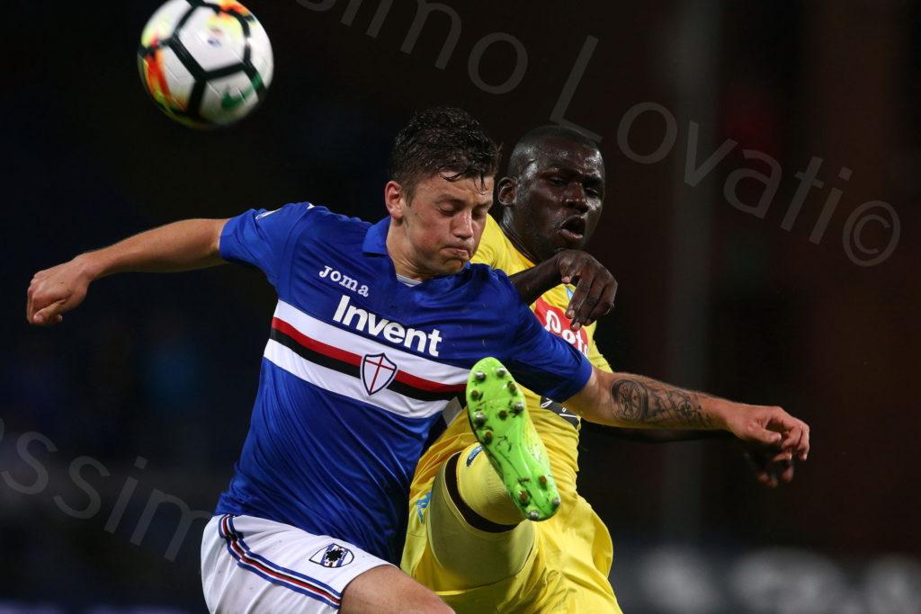 13/5/2018, Genova, Campionato di Calcio di Serie A 2017-2018, Sampdoria-Napoli