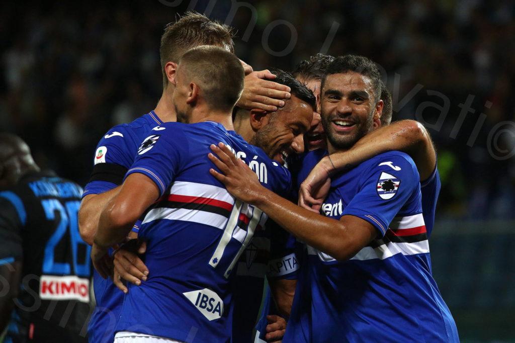 02/09/2018, Genova, Campionato di Calcio Serie A 2018-2019, Sampdoria – Napoli