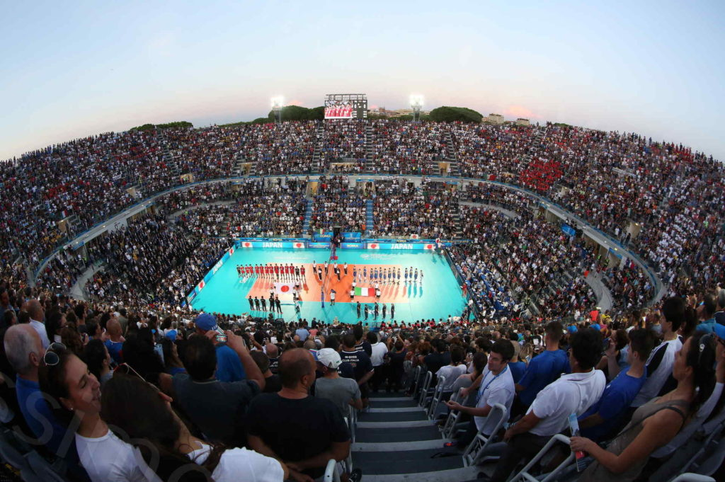 09/09/2018, Roma, FIVB Volleyball Men's World Championship 2018, opening game Italia-Giappone