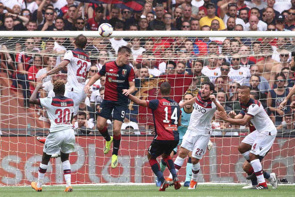 16/09/2018, Genova, Campionato di Calcio di Serie A 2018/2019, Genoa-Bologna
