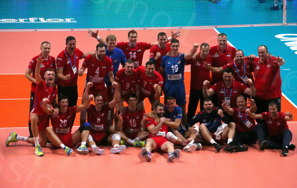 26/09/2018 Torino, Pala Alpitour, FIVB Volleyball Men's World Championship 2018, Italia-Serbia