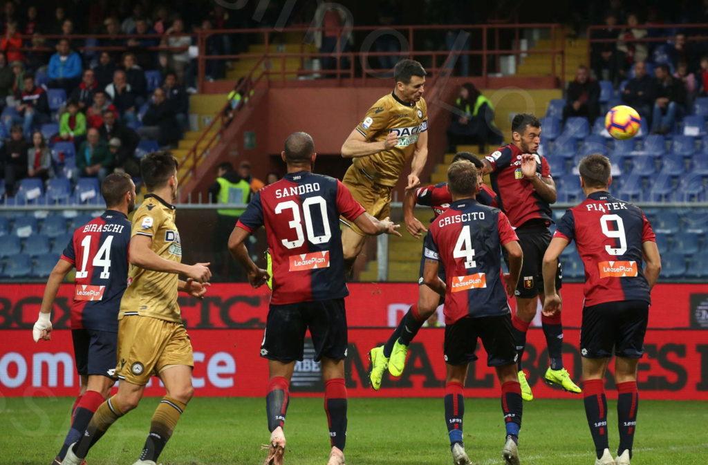 28/10/2018, Genova, Campionato di Calcio di Serie A 2018/2019, Genoa-Udinese
