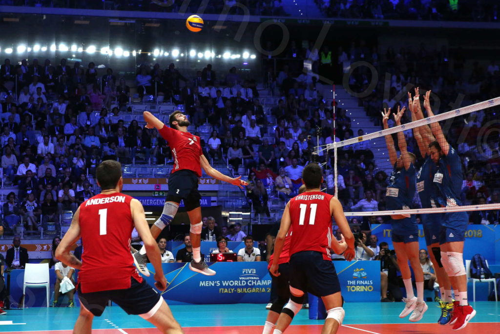 30/09/2018, Torino, Pala Alpitour, FIVB Volleyball Men's World Championship 2018, Final 3-4, USA-Serbia
