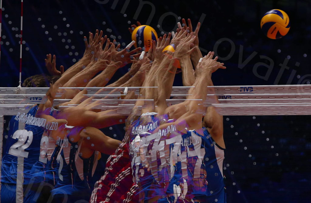28/09/2018 Torino, FIVB Volleyball Men's World Championship 2018, Italia-Polonia