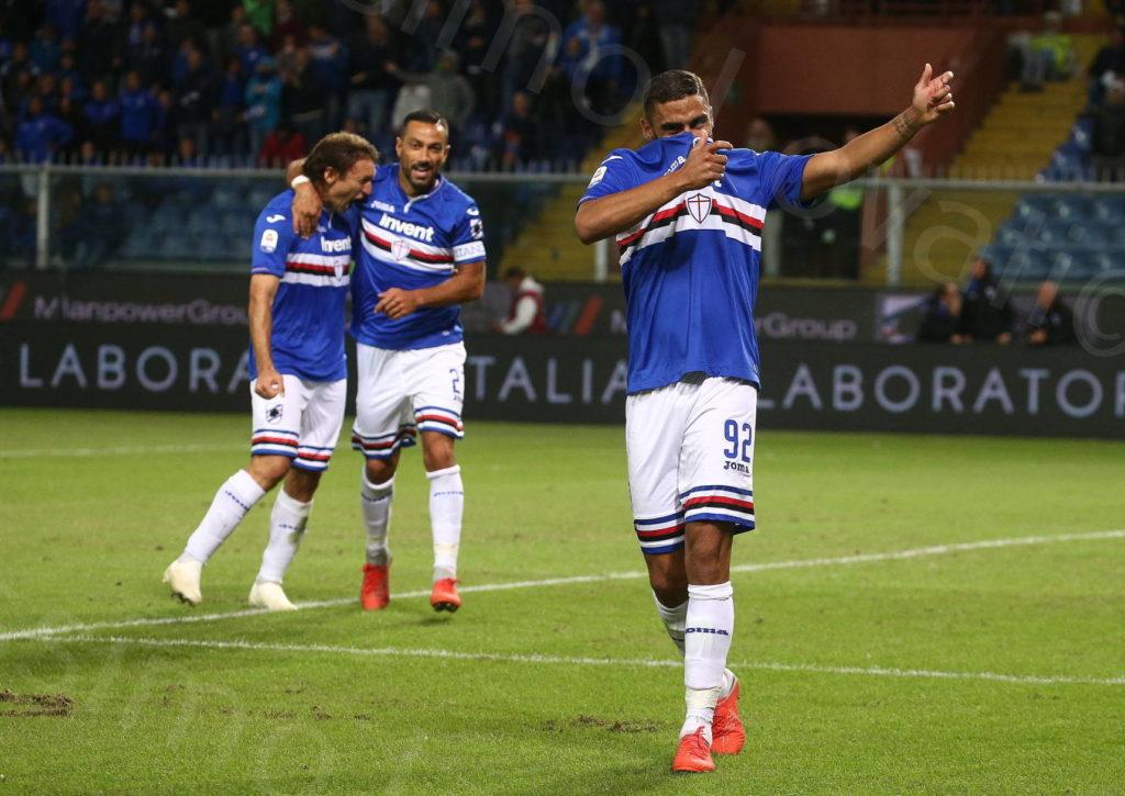 01/10/2018, Genova , Campionato di Calcio di Serie A 2018-2019, Sampdoria-Spal
