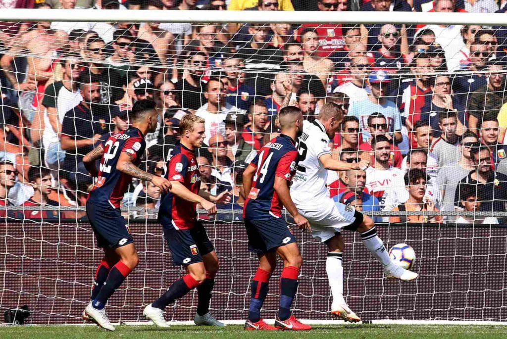 07/10/2018,Genova Campionato di Calcio di Serie A, 2018-2019, Genoa-Parma