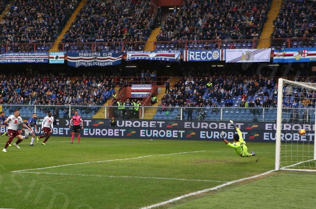 04/11/2018, Genova , Campionato di Calcio di Serie A 2018/2019, Sampdoria-Torino