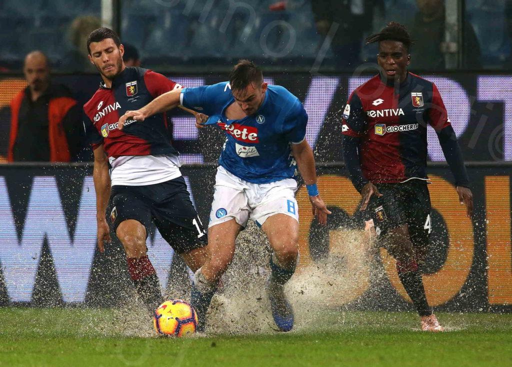 10/11/2018, Genova, Campionato di Calcio di Serie A,Genoa-Napoli