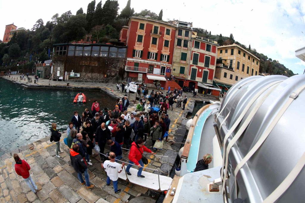 """02/11/2018, Strada crollata tra Santa Margherita Ligure e Portofino – """"Covo Nord Est"""" distrutto"""