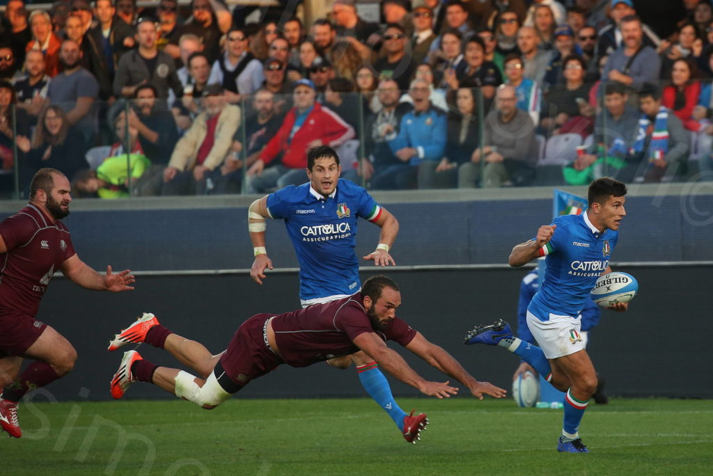 10/11/2018, Firenze, Cattolica Test Match di Rugby, Italia-Georgia