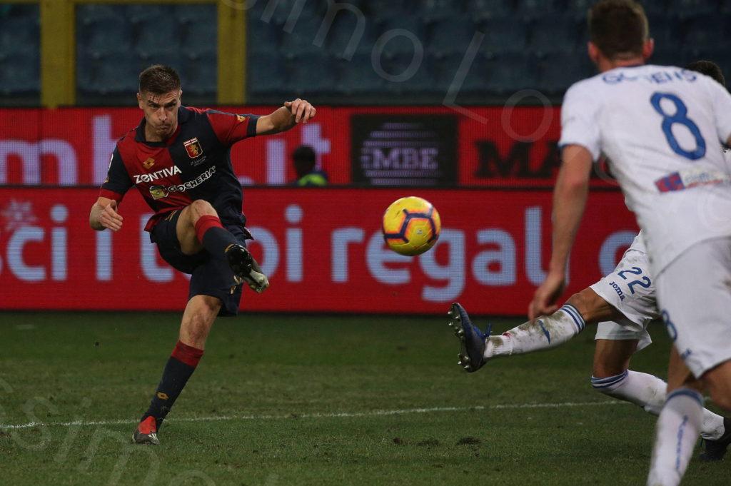 22/12/2018, Genova, Campionato di Calcio di Serie A 2018/2019, Genoa-Atalanta
